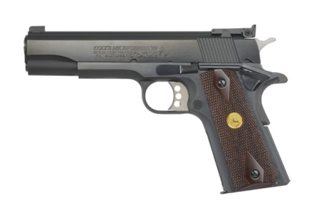 Colt Gold Cup National Match 9mm/45 A.C.P.